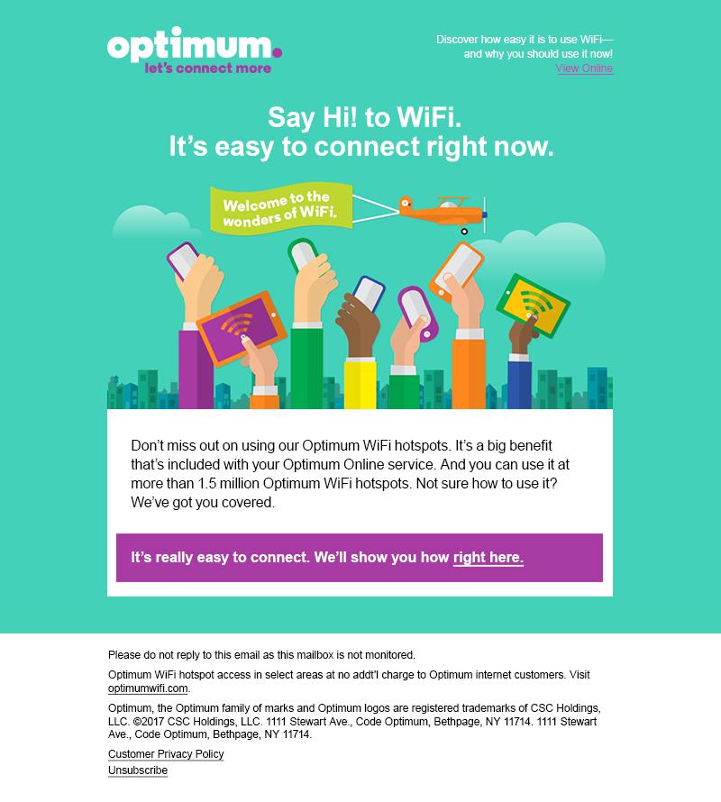 Optimum WiFi Educational Microsite | John M  Leary